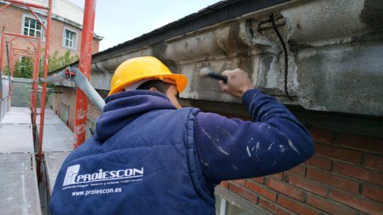 Mantenimiento fachadas, proiescon Madrid