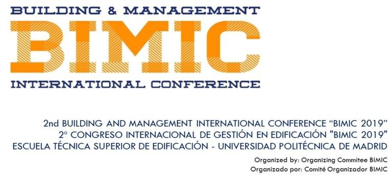 """2º Congreso internacional de gestión en la edificación """"BIMIC"""""""