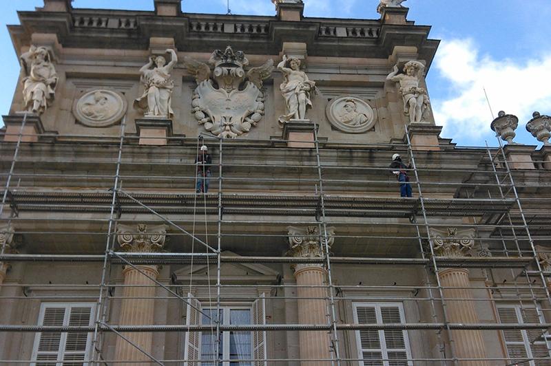 Obras de rehabilitación de exteriores en Madrid