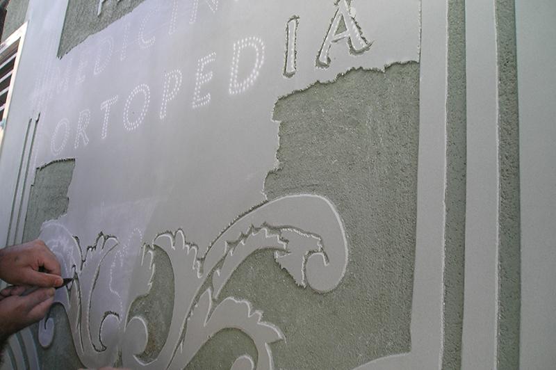 Rehabilitación de fachadas con técnicas tradicionales